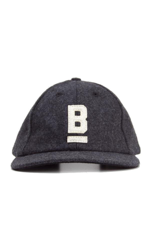 Bridge & Burn B Flat Wool Cap