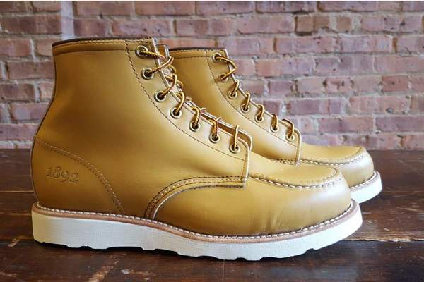 4db58e9c288 Thorogood Boots Limited Edition Mustard 1892 Janesville on Garmentory