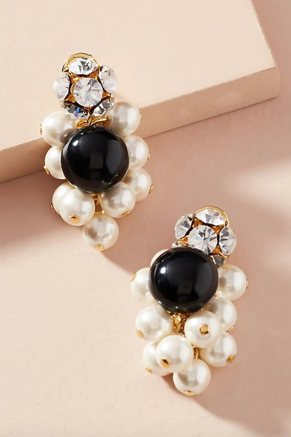 Rachel Comey Mira Crystal And Pearl Earrings vnjdI
