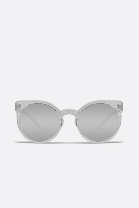 QUAY Kosha Round Sunglasses - Clear