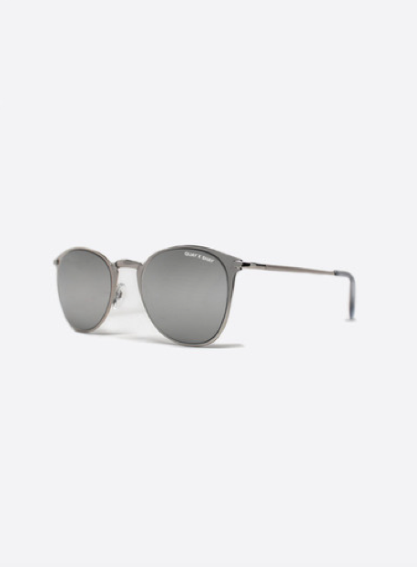 QUAY x Shay Domino Sunglasses | Silver Mirrored