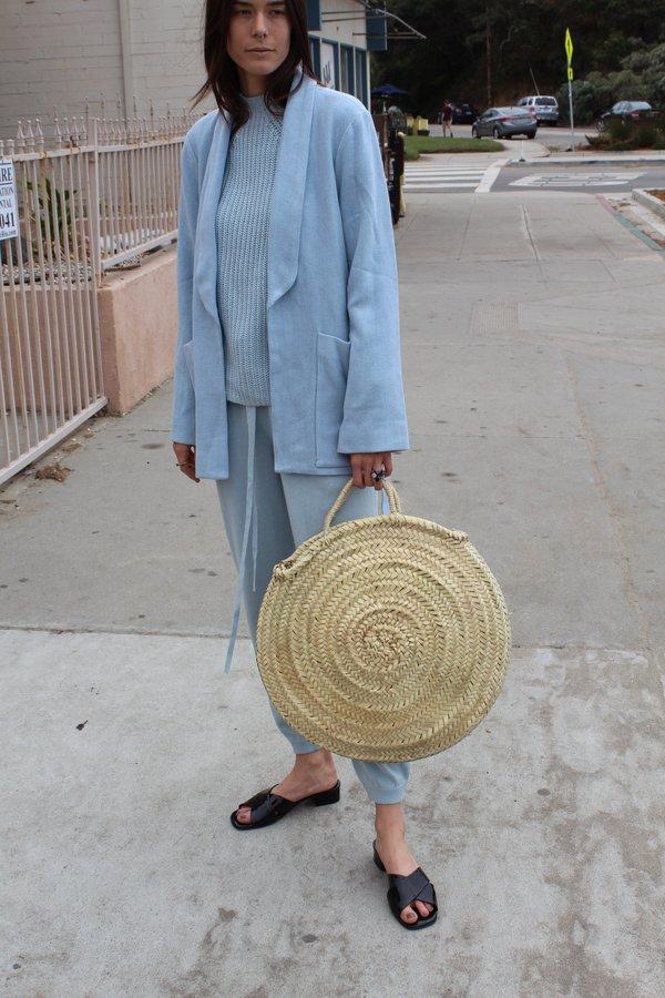 Beklina Moroccan Woven Circle Tote