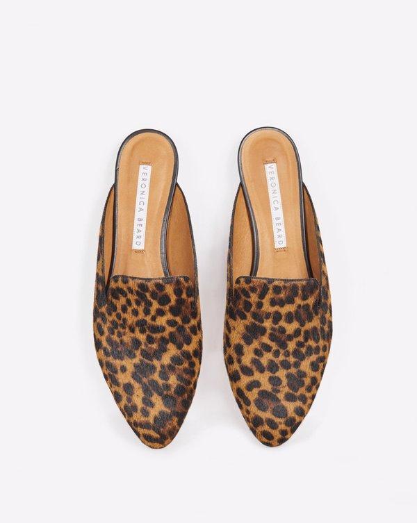 Veronica Beard Leopard Mules | Garmentory