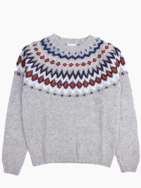 Norse Projects Birnir Fairisle Kit White | Garmentory