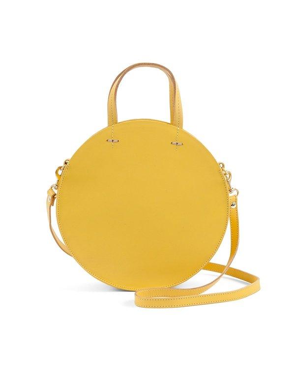 93b942609f8 Clare V. Petit Alistair Cuoio Yellow Nappa | Garmentory