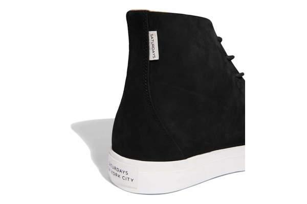 41763e648a6 Saturdays NYC Mike High Sneaker - Black