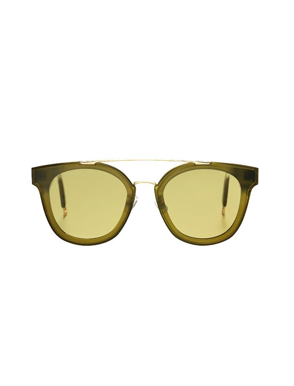d248a348b0f Gentle Monster x Tilda Swinton Newtonic S1 64mm Sunglasses - Green ...