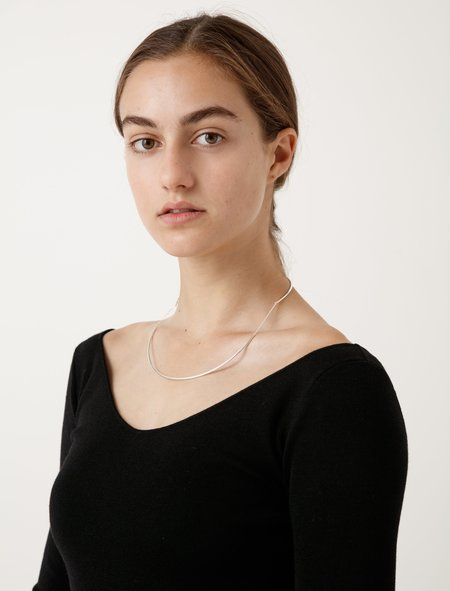 Medley Institute Double Pendant Wire Necklace