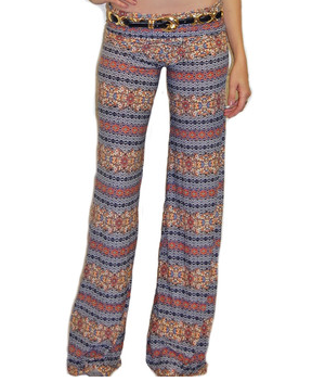 5TWO3 Peace Pants | Pastel Geometric