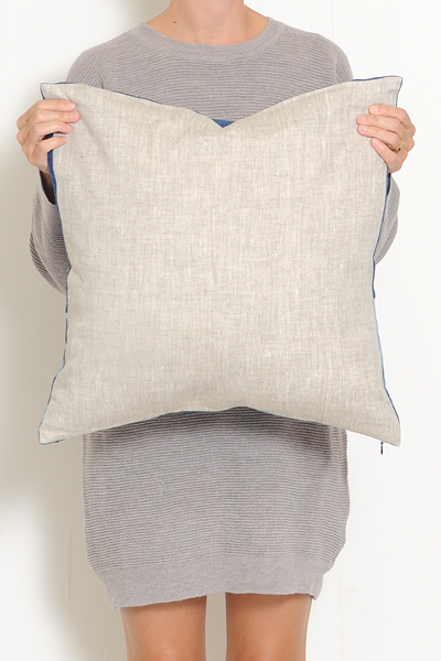 Mineral Workshop Rustic Indigo Pillow