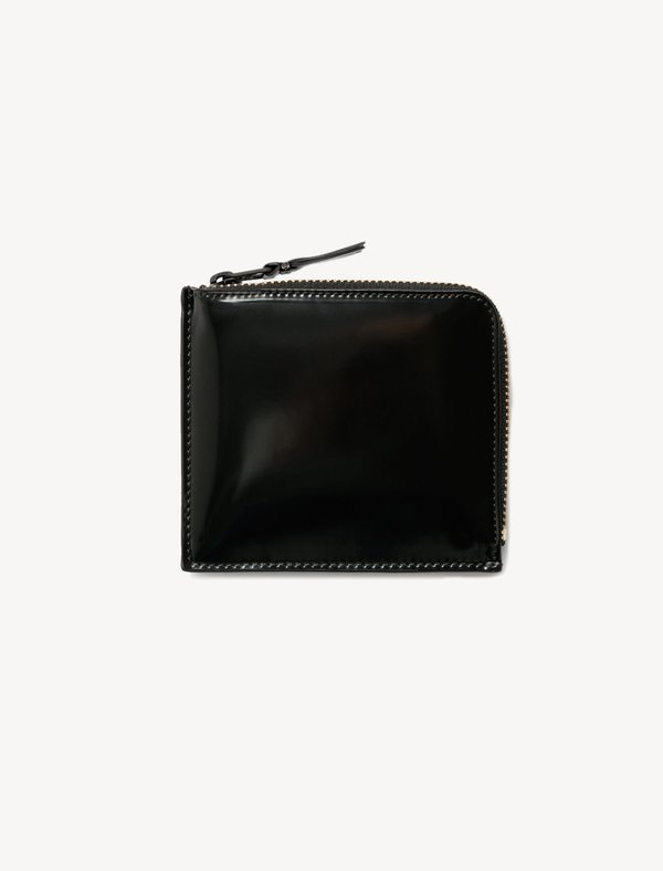 Comme des Garçons SA3100VB 3/4 Zip Wallet - Black