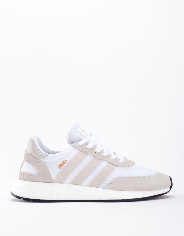 premium selection 9fdf6 8fcd9 Adidas Iniki Runner - White Pearl Grey (Footwear)  Black (Core)