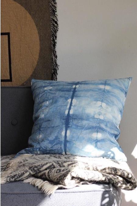 Hannah Ruth Levi Hannah Ruth Levi Indigo Dyed Pillow