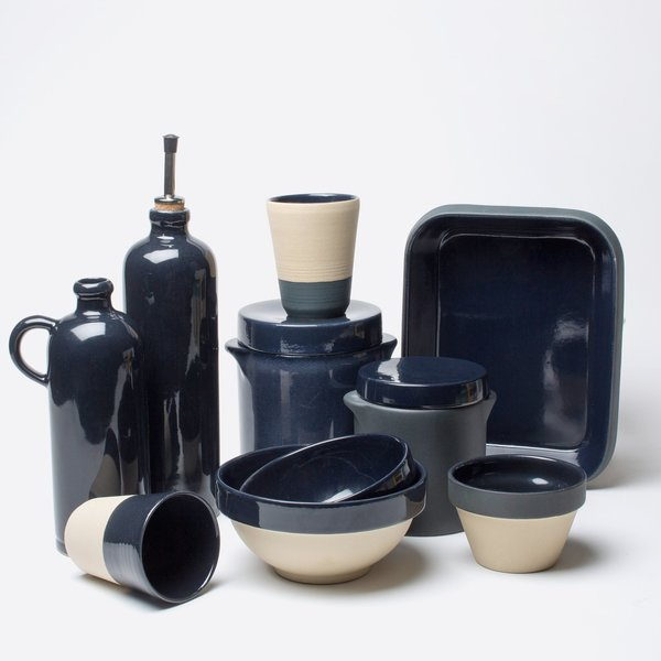 manufacture de digoin midnight oil cruchon por cru bnu garmentory. Black Bedroom Furniture Sets. Home Design Ideas