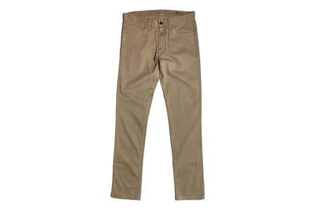 Faherty Brand Comfort Twill Jean - Khaki