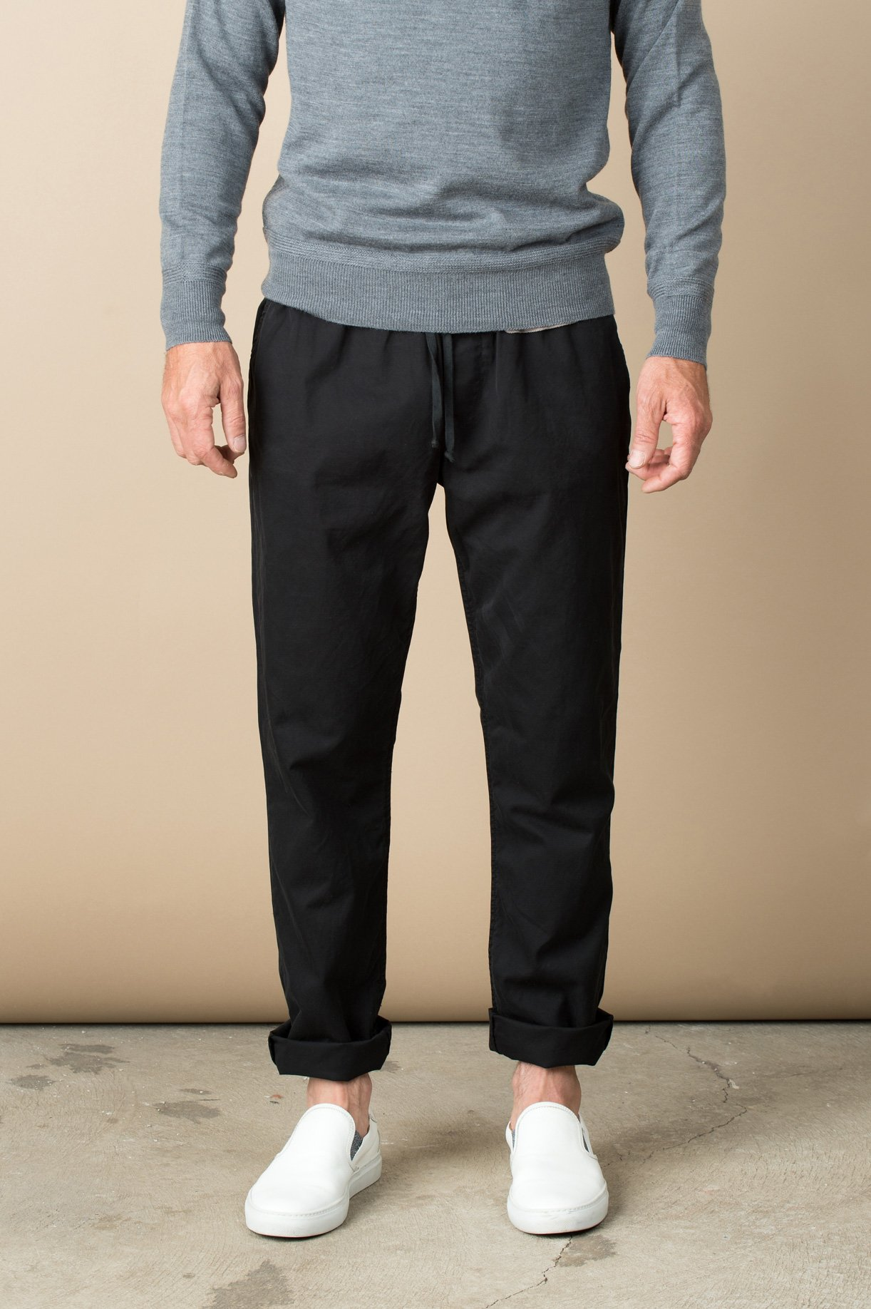 later shop for luxury classic chic Save Khaki Twill Easy Chino In Black