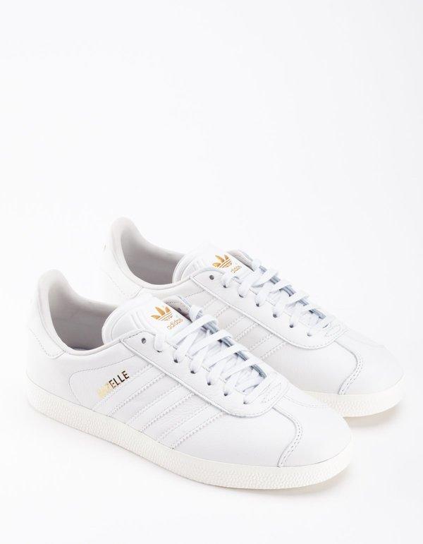 Adidas Gazelle - Crystal/White/Gold
