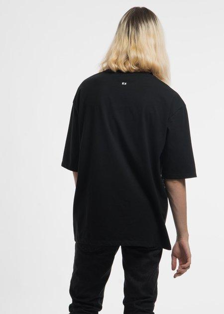 Ex Infinitas Black Surf Sticker Oversized T-Shirt