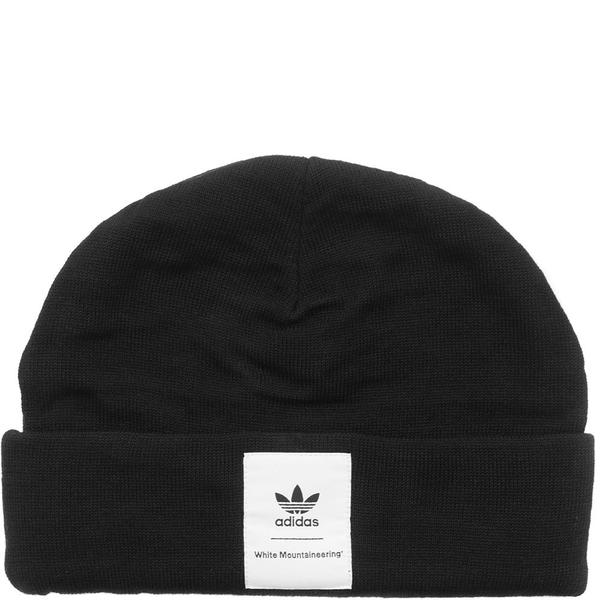 ADIDAS ORIGINALS BY WHITE MOUNTAINEERING BEANIE - BLACK  a76f530369dd