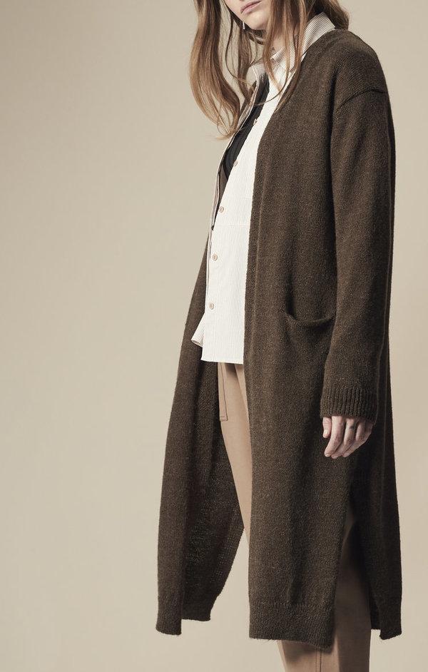 Achro Alpaca-Blend Long Cardigan  354898112