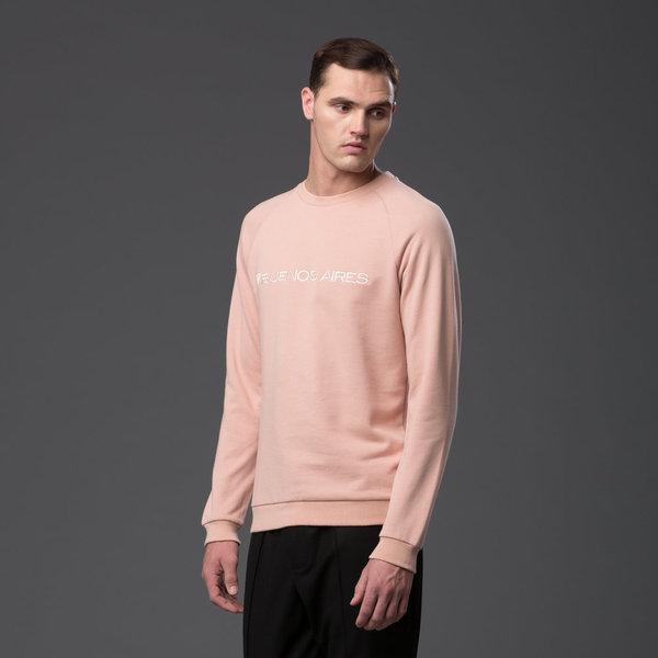CARLOS CAMPOS - Buenos Aires Sweatshirt - Rose Blush
