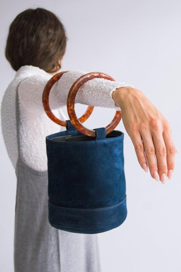 Simon Miller Bonsai 20 Bag Smoke Blue Garmentory