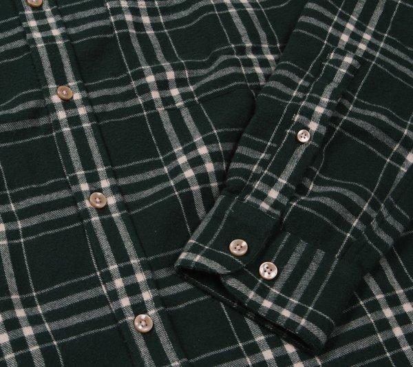 Portuguese Flannel Garra Flannel Shirt - Green