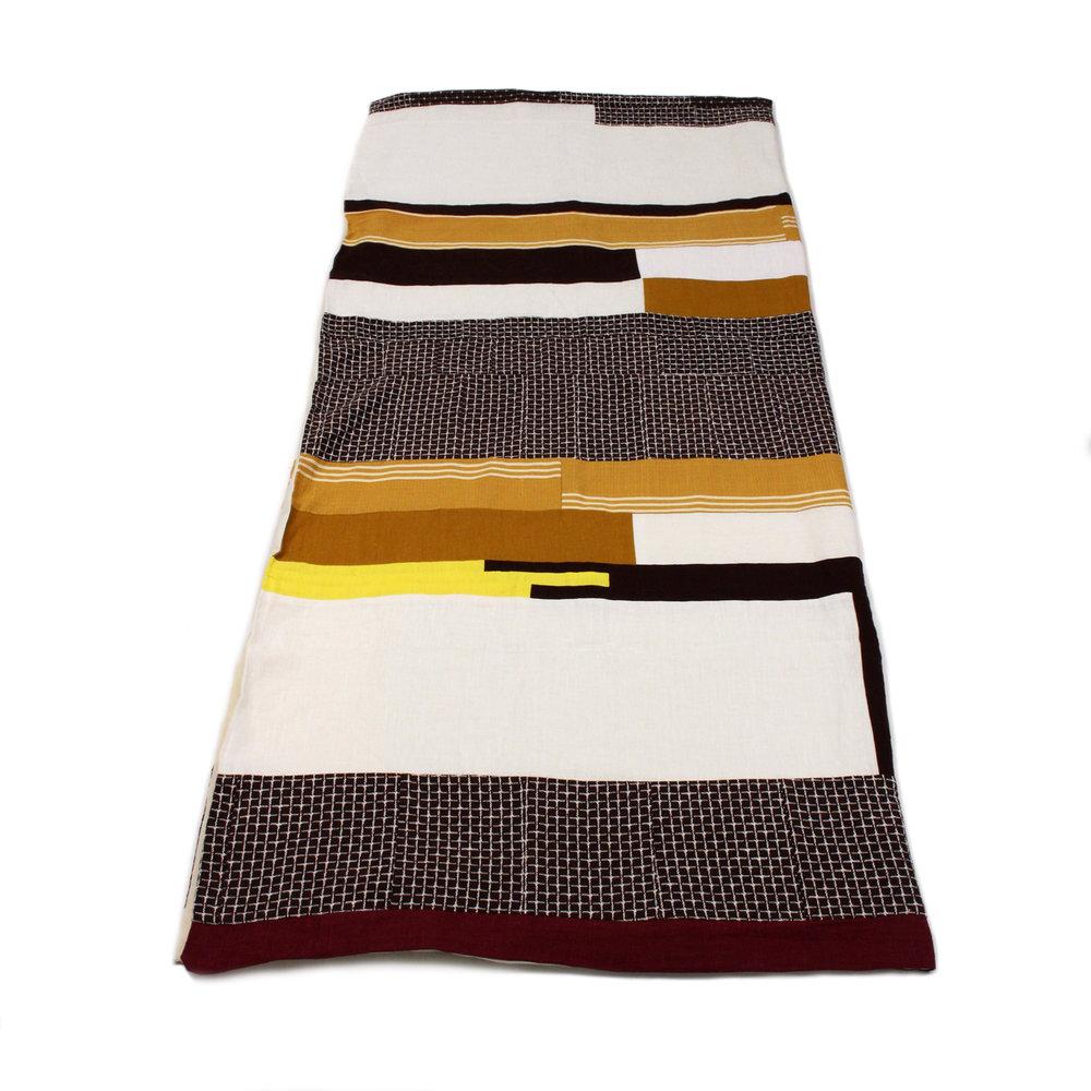 Ace Amp Jig X Le Bouton Ltd Edition Quilt Autumn Stripes