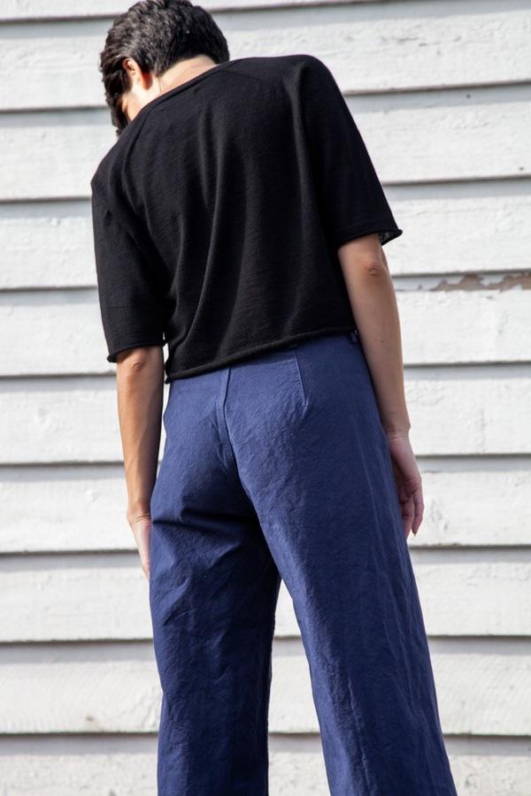 Jesse Kamm Sailor Pant | Cunningham Blue