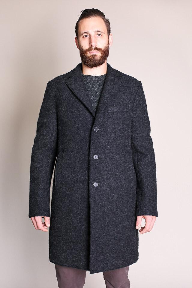 harris wharf london boxy coat in anthracite garmentory. Black Bedroom Furniture Sets. Home Design Ideas