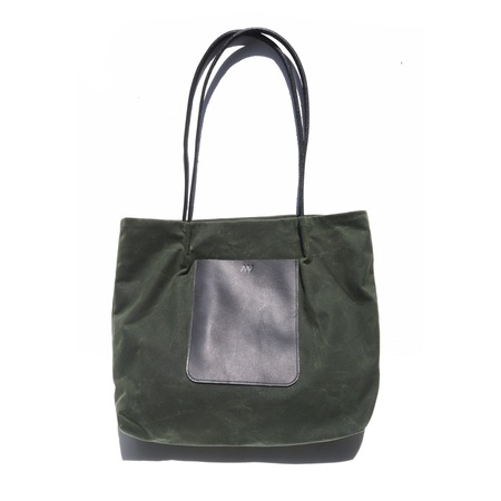 AW by AndreaWong ON THE GO POCKET TOTE - OLIVE