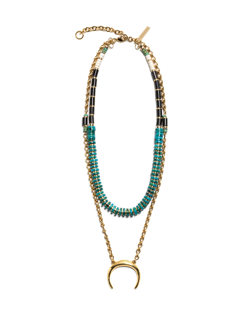Lizzie Fortunato Snake Charmer Necklace