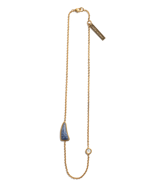 Lizzie Fortunato Simple Fin Necklace