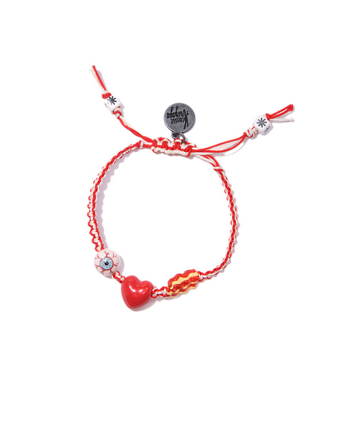 Venessa Arizaga I Love Bacon Friendship Bracelet