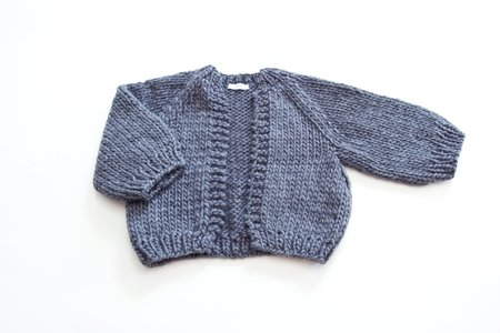 good night, day Perth Chunky Cardigan of Peruvian wool