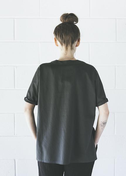 Ilana Kohn Lola Shirt   Faded Black