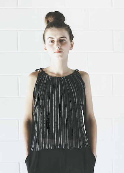 Objects Without Meaning Accordion Top | Black Stripe