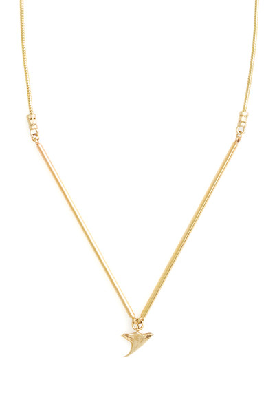 Mercurial NYC Barred & Decomposed Thorn Necklace