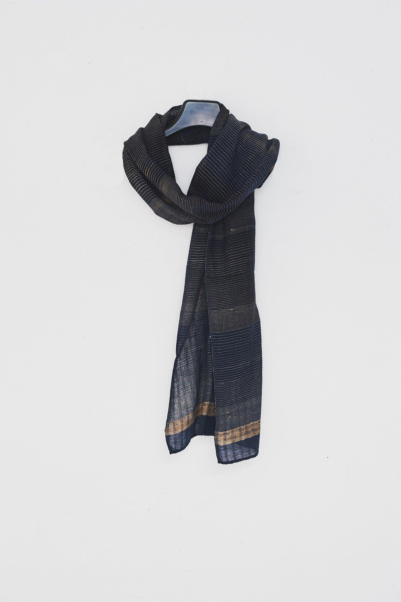 909c07a4c Monsoon Textiles Tribal Stripe Scarf | Garmentory