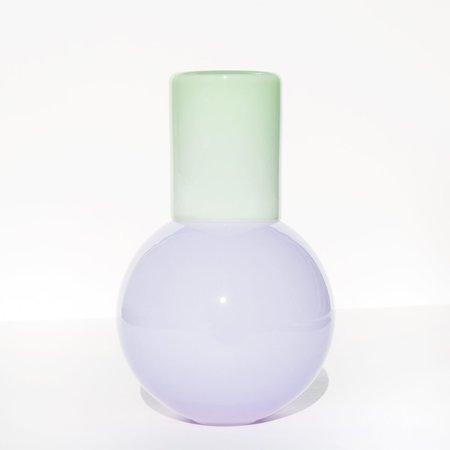 Anna Karlin Studios Bedside Carafe - Pale Purple / Pale Green