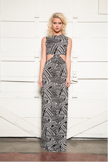 Clayton Kay Dress | Ethnic Print