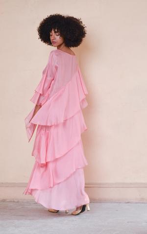 Aurora Vestita Medusa Rosewater Dress