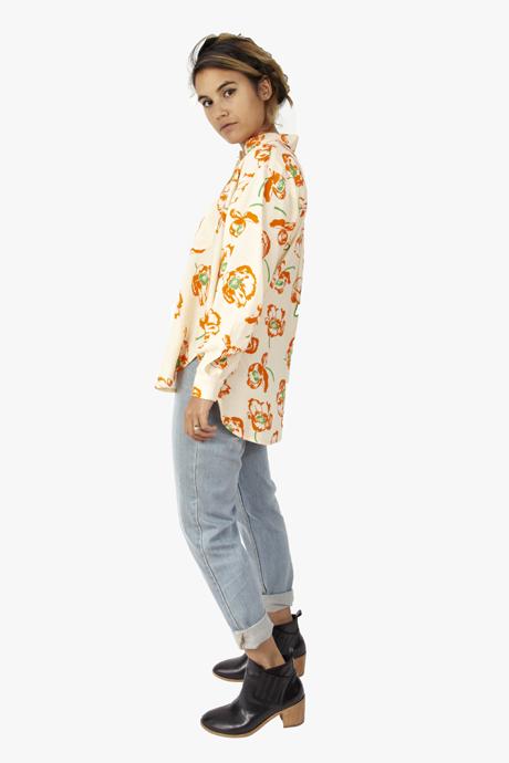 Carleen Big Shirt Poppy