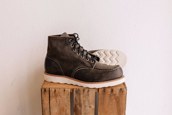 0bf2452229f Red Wing Shoes Classic Moc No. 8890 - charcoal on Garmentory