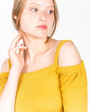 Samantha Pleet Capulet Dress In Gold