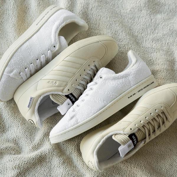 first rate 21923 b5797 Adidas Consortium Slam Jam x UA  Sons Campus - White  Garmen