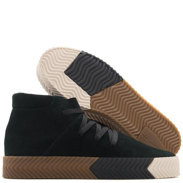 new styles 6b060 8c22d ADIDAS ORIGINALS BY ALEXANDER WANG SKATE MID   GREEN NIGHT