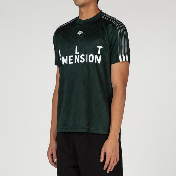 ef06c2e7a Adidas Originals By Alexander Wang Soccer Jersey II T-shirt - Green Night.  sold out. Adidas