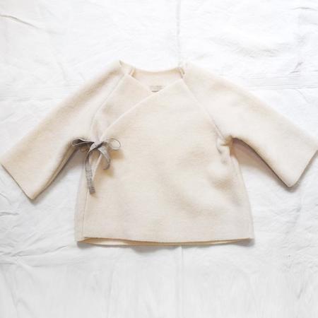 kids Makié Kimono Jacket - Ivory