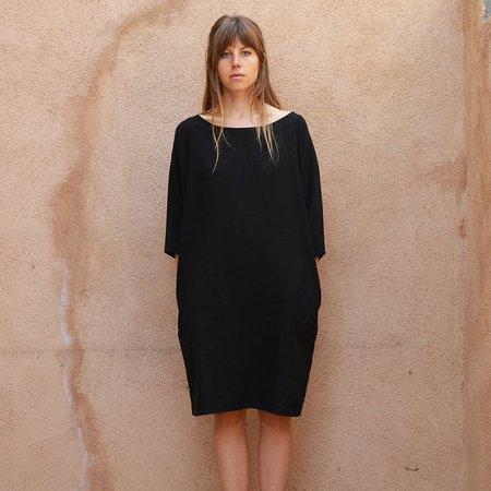 Me & Arrow Dolman Dress - Black